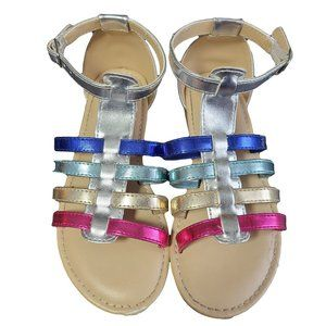 GYMBOREE Colorful Strappy Sandals 1 (IMO)
